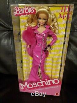Barbie Moschino MET Limited Edition Gold Label Barbie Doll 2019 Caucasian NRFB
