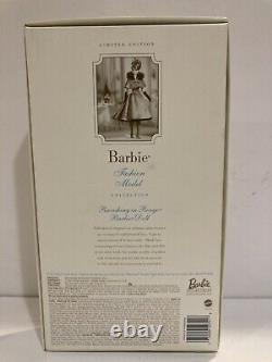 Barbie Silkstone Fashion Model Limited Edition Ravishing In Rouge Nrfb