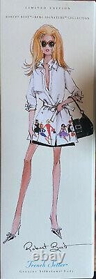 Barbie Silkstone Trench Setter Robert Best BMFC Signature Limited Edition NRFB