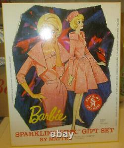 Barbie Sparkling Pink Gift Set 50 Anniversary Limited NRFB Mattel SPESE GRATIS