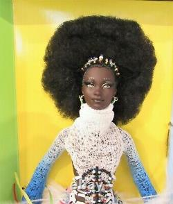 Barbie TRESURES OF AFRICA MBILI Doll 2002 NIB Limited Edition by Byron Lars