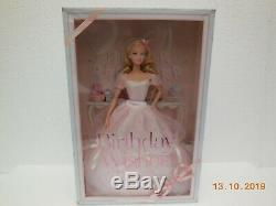 Birthday Wishes Barbie Mattel X9189 Limited Edition Muse Body COA 2012