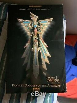 Bob Mackie FANTASY GODDESS OF THE AMERICAS BARBIE Doll NRFB Limited Edition