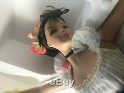 Boxed Barbie Porcelain Doll 2000 Limited Ed Mattel Prima Ballerina FREE SHIP