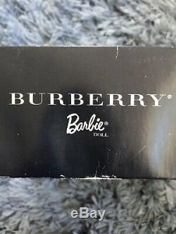 Burberry 2001 Barbie Doll NRFB, LIMITED EDITION. SKU # 29421