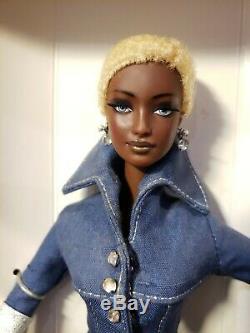 Byron Lars Indigo Obsession Barbie Doll Limited Edition Mattel 26935 Nrfb