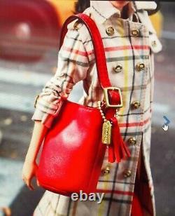 Coach Barbie Gold Label Limited 2013 Leather Handbag NEW