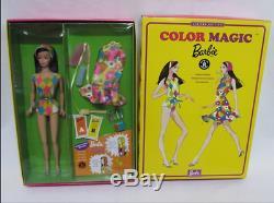 Color Magic Barbie Limited Edition 1966 VTG. PJ Repro Raven Hair NRFB Mint NIB