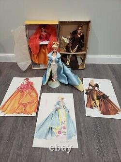 Couture Collection Barbie Dolls Full Set of 3 with Limited Edition Tiaras