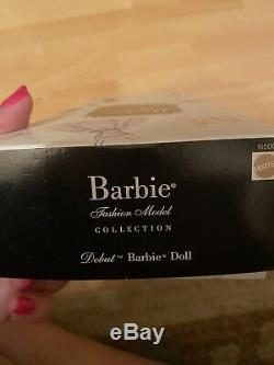Debut Fashion Model 2008 Barbie Doll Brand New Limited Edition