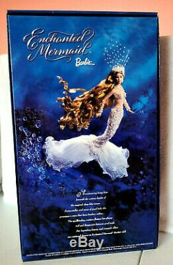 Enchanted Mermaid Barbie Doll Collectible Bob Mackie Limited Edition -nrfb