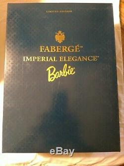 Faberge Imperial Elegance Barbie Doll Limited Edition Porcelain #07207 New In