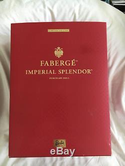 Fabergé Imperial Splendor Barbie, Porcelain Doll Barbie, Limited Edition, 2000