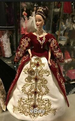 Faberge Imperial Splendor Porcelain Barbie Doll 2000 Limited Edition 01528