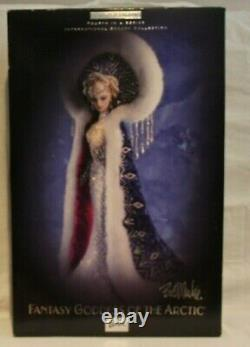 Fantasy Goddess of The Arctic BM Limited Edition 4th in series 2001 Mattel 50840