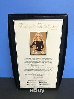 Festive & Fabulous Barbie Collector GOLD LABEL Limited Edition 2007 Mattel