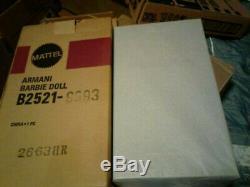 GIORGIO ARMANI BARBIE 2003 MINT NRFB WithSHIPPER (Limited Edition)