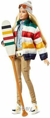 HBC Hudson's Bay STRIPES 350th Anniversary Barbie Doll 2020 BNIB Limited Edition