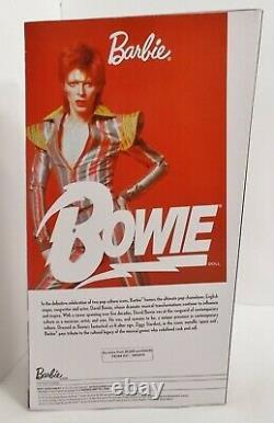 HTF! LAST ONES! Barbie Bowie Mattel Ziggy Stardust Limited Edition Woooo