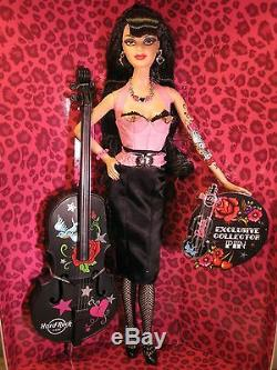 Hard Rock Cafe Barbie Doll Rockabilly 2009 Gold Label Limited
