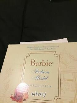 Haute Monde Silkstone Limited Barbie Doll Fan Club Exclusive ERROR BOX PRISTINE