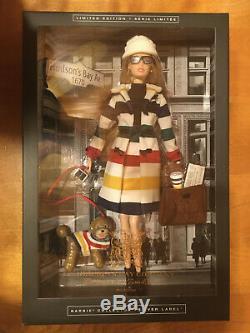 Hudson's Bay Company Stripes Barbie Limited Edition RARE! (The Bay, HBC) NIB