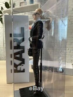 Karl Lagerfeld Barbie Doll Platinum Label Rare Limited Edition
