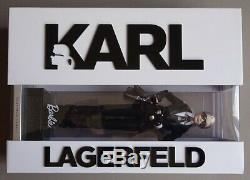 Karl Lagerfeld Barbie Limited Edition 299/999 NRFB Platinum Edition 2014 Superb