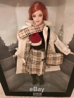 LIMITED EDITION Burberry Barbie Doll (Brand NewithUnopened, Original Seals)