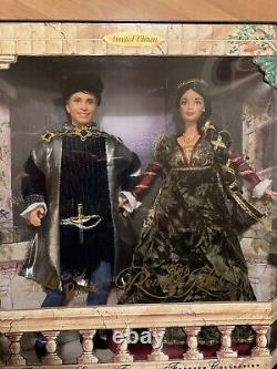 LIMITED EDITION Ken & Barbie as Romeo & Juliet 1997. Gorgeous outfits