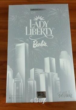 Lady Liberty Barbie 2000 Bob Mackie Limited Edition NRFB MIB