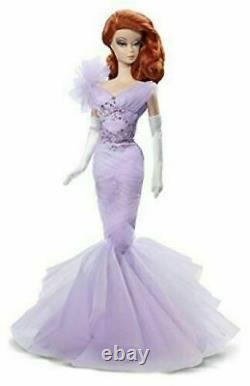 Lavender Luxe Silkstone Red Haired Barbie- NRFB Mint -Limited to 8100 -CGT28