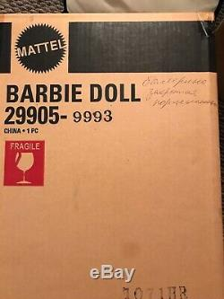 Lighter Than Air Porcelain Ballerina Barbie Nrfb Limited Edition In Shipper