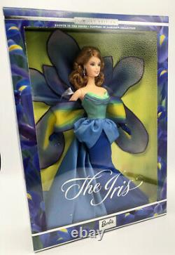 Limited Edition Barbie Flowers in Fashion Collection The Iris. NIB, NRFB. 2001