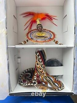Limited Edition Bob Mackie Fantasy Goddess of Africa Barbie Doll BRAND NEW