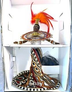 Limited Edition Bob Mackie Fantasy Goddess of Africa Barbie Doll NRFB
