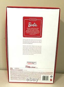 Limited Edition Coach Barbie Designer Collection Collecter Exculsive 2013