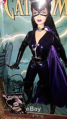Limited Edition DC CatWoman Barbie NIB