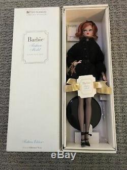 Limited Edition FAO Schwartz Barbie Fashion Model Genuine Silk Stone Body NIB