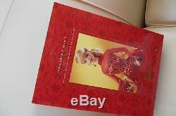 Limited Edition Holiday Gift Fine Porcelain Bisque Barbie Doll
