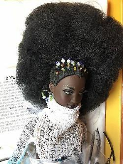 Limited Edtn Moja Barbie 1st in Treasures of Africa collection by Byron Lors NWB