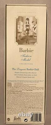 Lingere Silkstone Barbie Number 3 Limited Edition 29651- Nrfb 2000