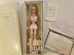 Lingerie Silkstone Barbie #1 Fashion Model Collect Blonde Limited Edition 2000