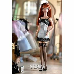 Lingerie Silkstone Barbie Doll #6 Red Head Bfmc Limited Edition 56948 Nrfb