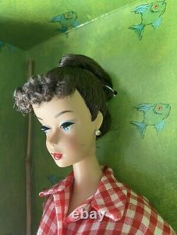 Mattel Barbie 2005 Gold Label Limited Edition Picnic Set Brunette Hair New Doll