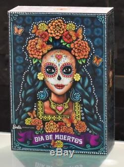 Mattel Barbie Dia De Los Muertos Day of Death Doll Mexico Gold Label Limited Ed