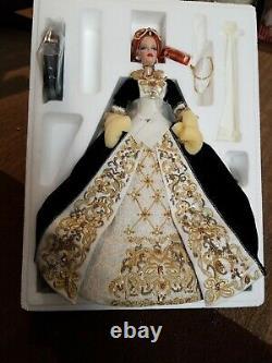 Mattel Barbie Doll 2001 Limited Edition Faberge Imperial Grace Porcelain NM