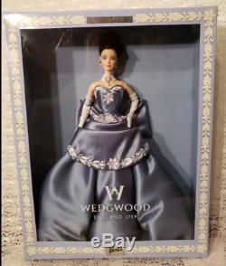 Mattel Barbie Doll Wedgwood Blue England Limited Edition 1999 Collector Doll