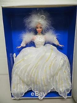 Mattel Barbie Enchanted Seasons Winter Limited Edition Snow Princess Doll Nib
