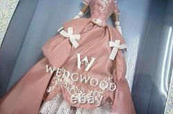 Mattel Barbie Limited Edition Wedgwood Robert Best pink dress 2001 AAunused